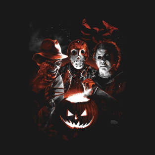 Halloween Scream Team t-shirts