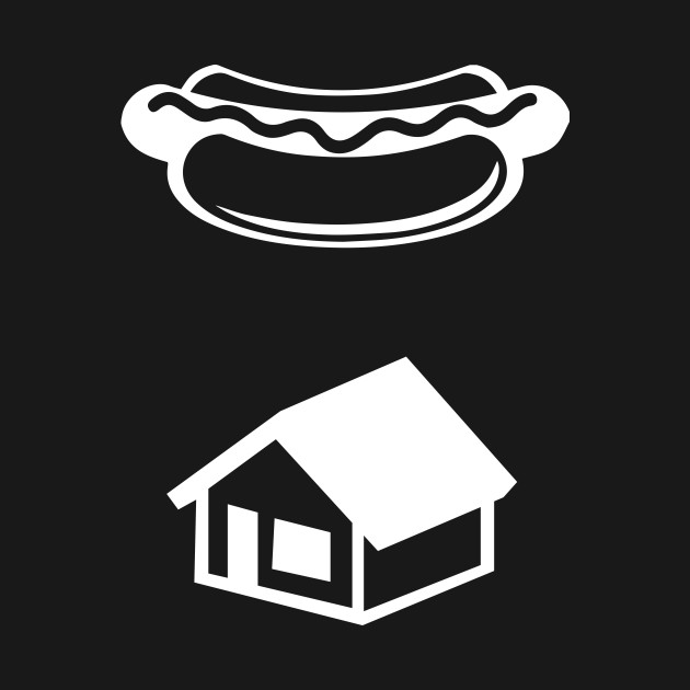 KEVIN'S HOT DOG GHOSTBUSTERS LOGO (white)
