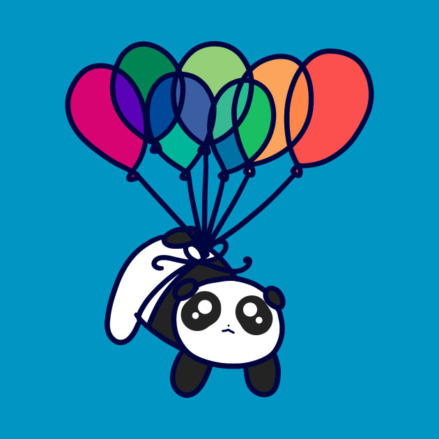 Kawaii Balloon Panda