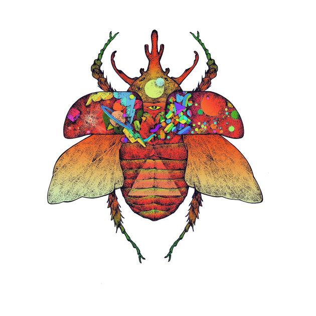 Kosmik  Beetle Red