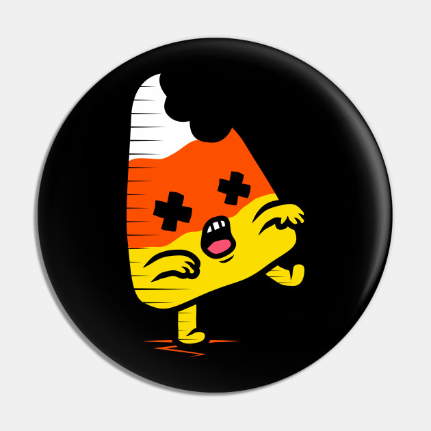 Zombie Candy Corn Pin