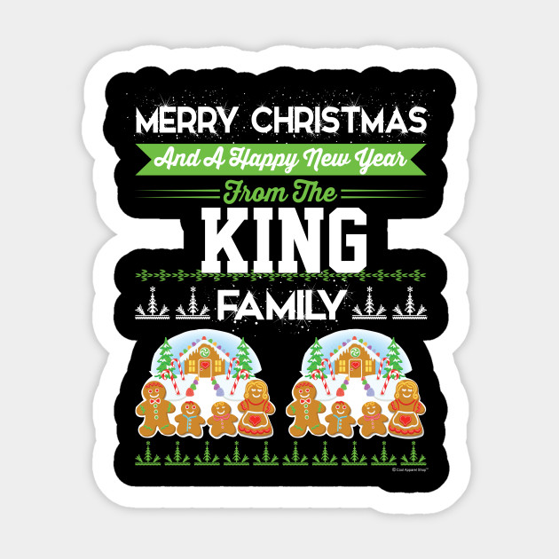 Merry Christmas And Happy New Year The King Fami