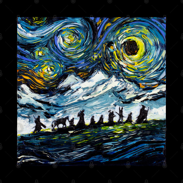 van Gogh Never Met The Fellowship
