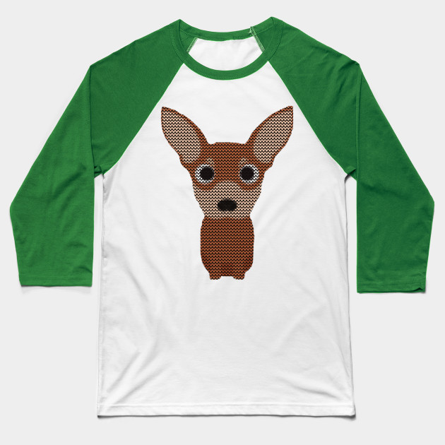Chihuahua Ugly Christmas Sweater Knit Pattern Chihuahua Ugly