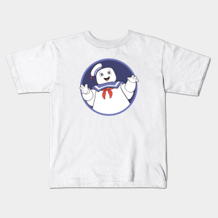 Stay Puft Marshmallow Man Ghostbusters Inspired Kids T-Shirt