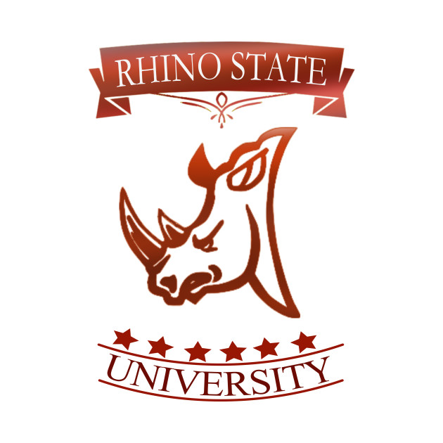Rhino State University Campus and College