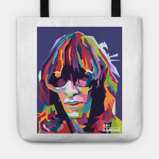 Abstract Joey Ramone in WPAP