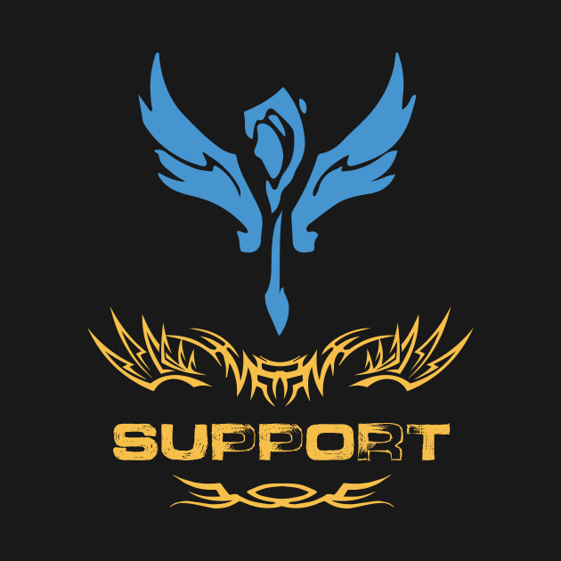 League of Legends SUPPORT [emblem]