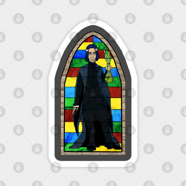 Stained Glass Snape