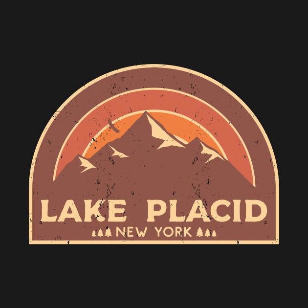 Lake Placid New York Mountain Design