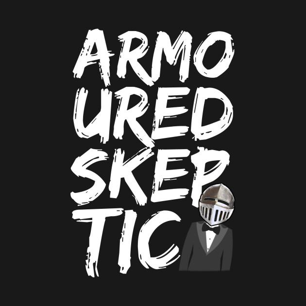 Armoured Skeptic Graphiti (White)