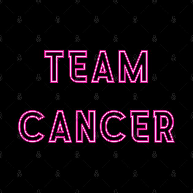 Team Cancer Neon Pink Design
