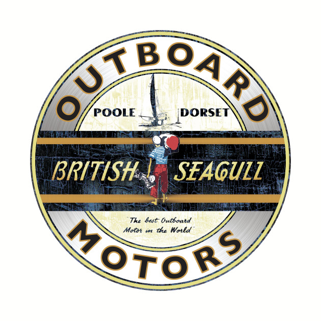 British Seagull Outboard Motors England