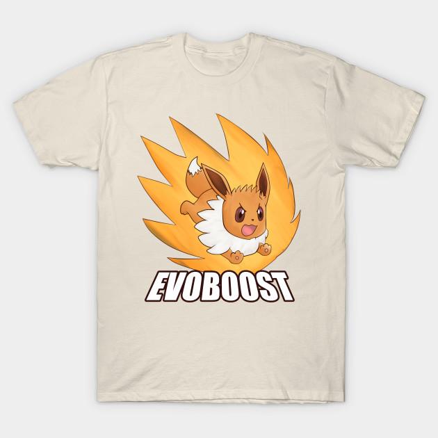 28ebeb41 EVOBOOST! - Eevee - T-Shirt | TeePublic