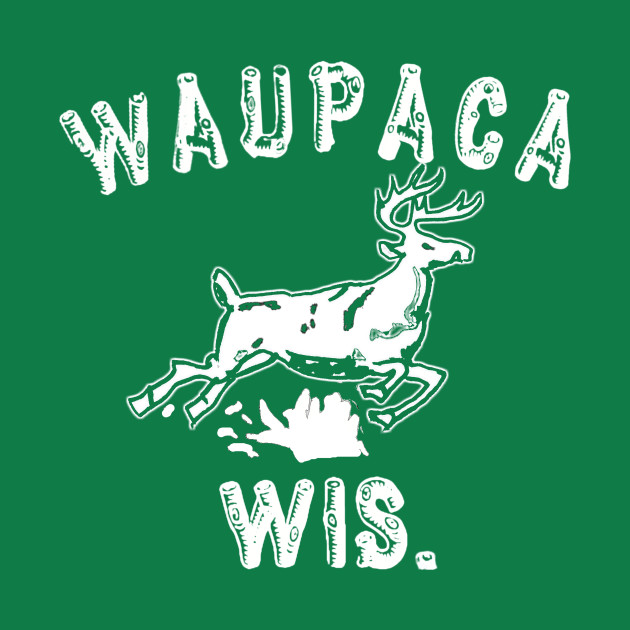 Original Stranger Things WAUPACA WIS. - Dustin's shirt