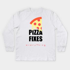 c12c6636ea Pizza Sauce Kids Long Sleeve T-Shirts | TeePublic