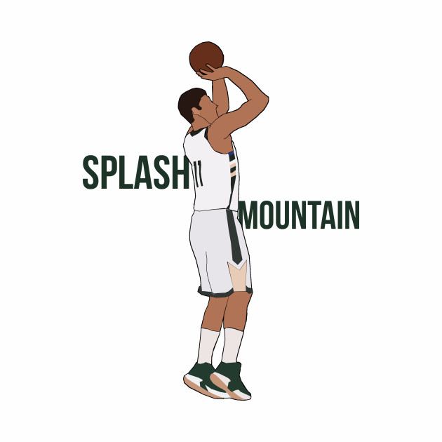 Brook Lopez 'Splash Mountain'- Milwaukee Bucks