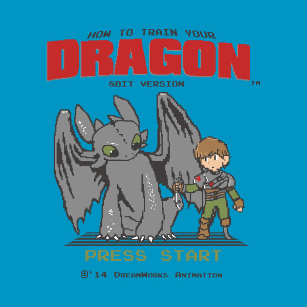 How To Train Your Dragon 8Bit Version