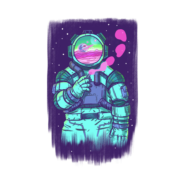 Spaceman Blue