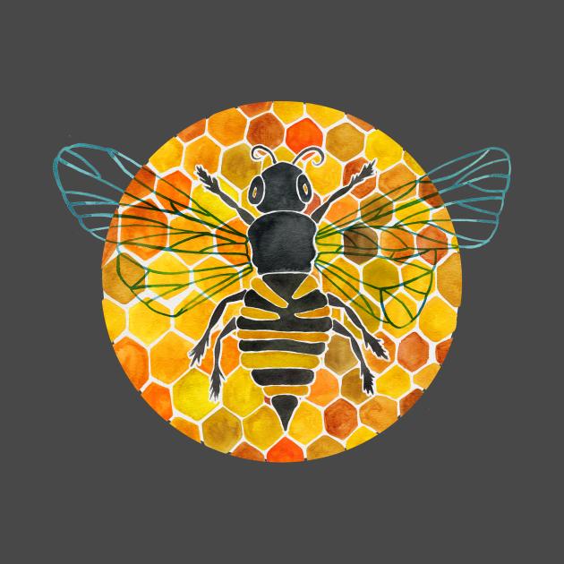 Bumblebee & Honeycomb