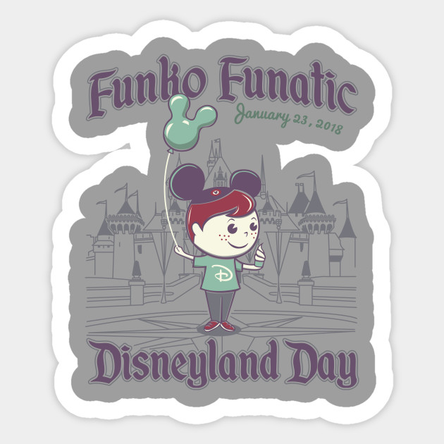 Funko Funatic Disneyland Day