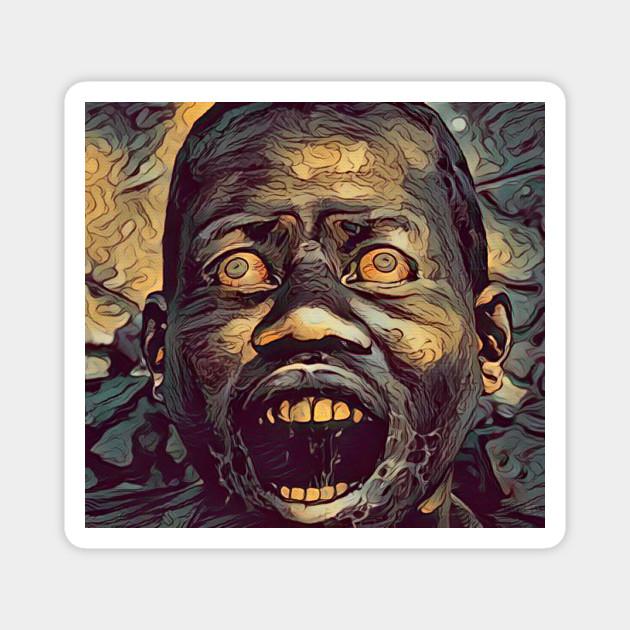 African Zombie Resident Evil Magnet Teepublic