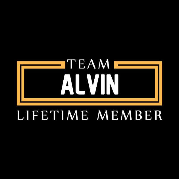 TEAM ALVIN LIFETIME MEMBER ,ALVIN NAME