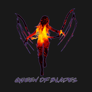 Queen of Blades t-shirts