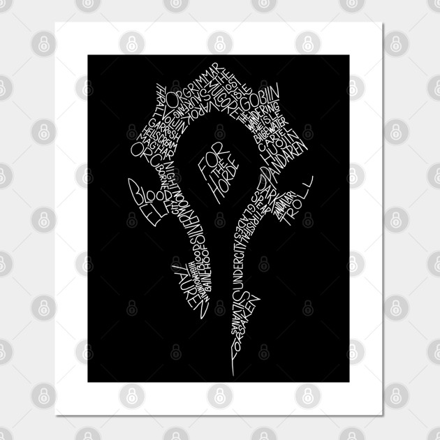 For The Horde Horde Symbol World Of Warcraft Horde Posters And Art Prints Teepublic Uk Download, share or upload your own one! for the horde horde symbol world of warcraft