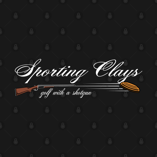 Sporting Clays Golf With A Shotgun Skeet Trap Clay