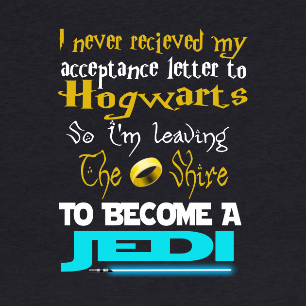 I never received my acceptance letter to Hogwarts....