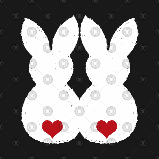 99d174b26 Easter Bunny Love Couple Shirts and Gifts - Easter Bunny - Kids T ...