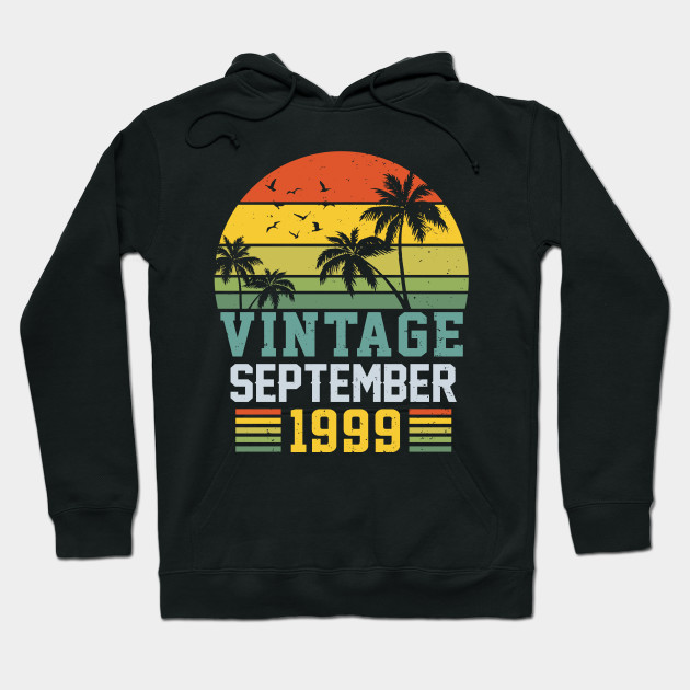 Retro Vintage September 1999 Shirt 20th Birthday Decorations
