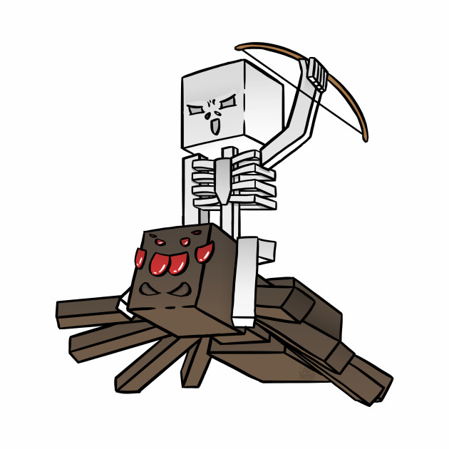 Minecraft Spider Jockey