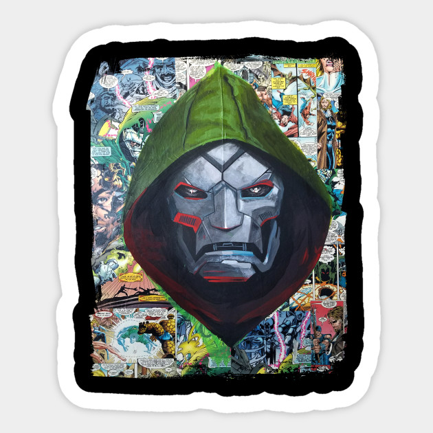 Doctor doom sticker