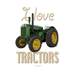 I Love Tractors John Deere Model D