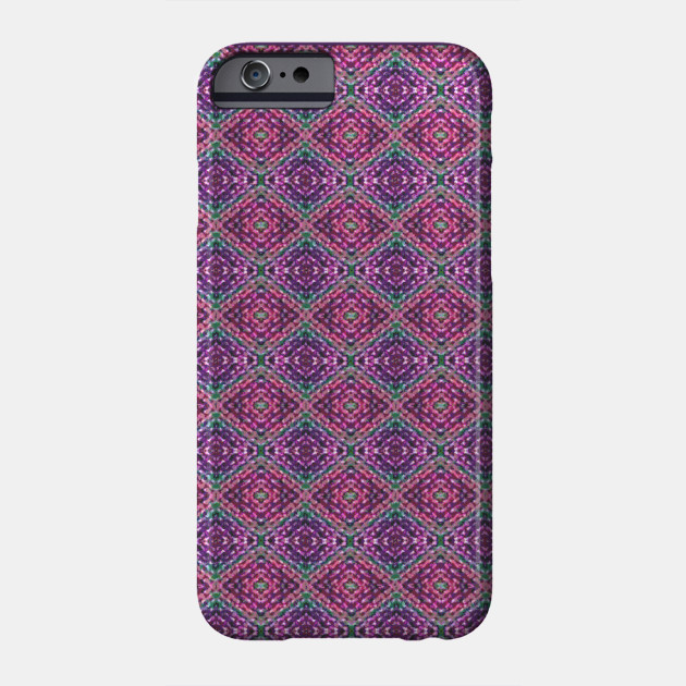 Purple Knit Pattern Repeat Pattern Phone Case Teepublic
