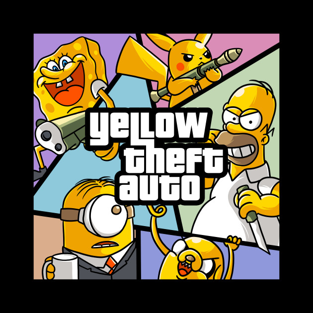 Yellow Theft Auto