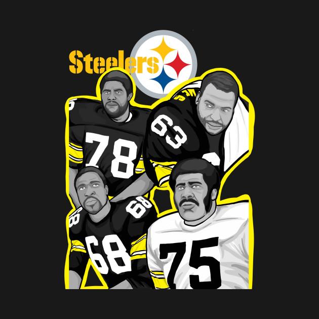 Pittsburgh Steelers Steel Curtain Defense