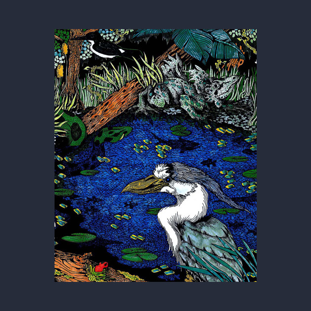 Rain Forest Heron