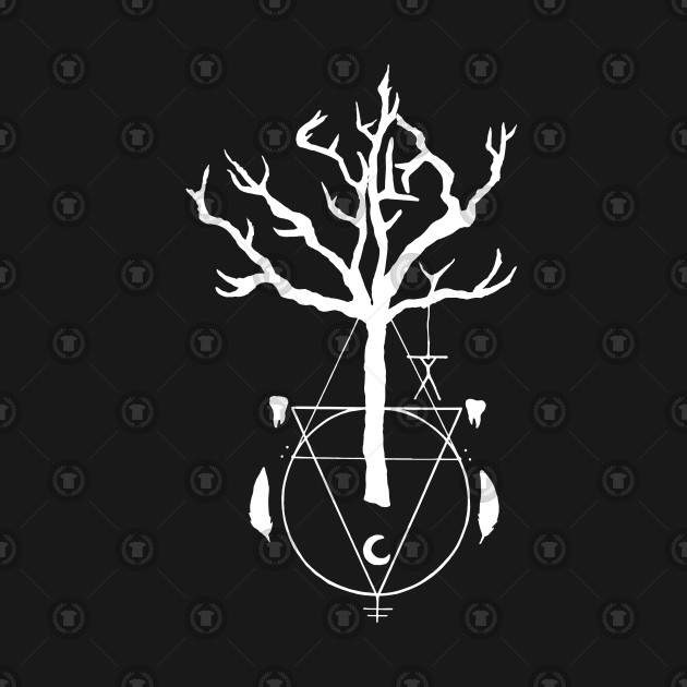 A Witch Tree Witchcraft T Shirt Teepublic