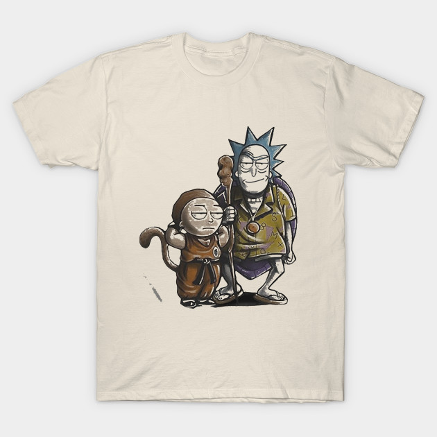 2bbfa834 Rick And Morty Dragon Ball - Rick And Morty - T-Shirt | TeePublic