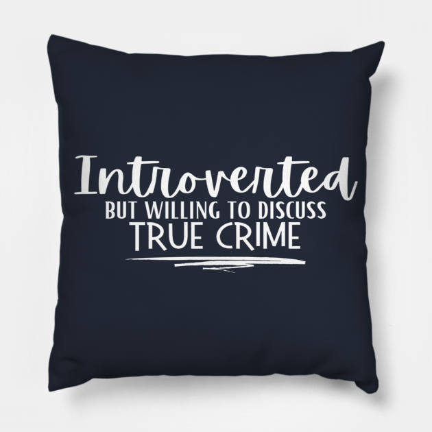 Introvert White Letters