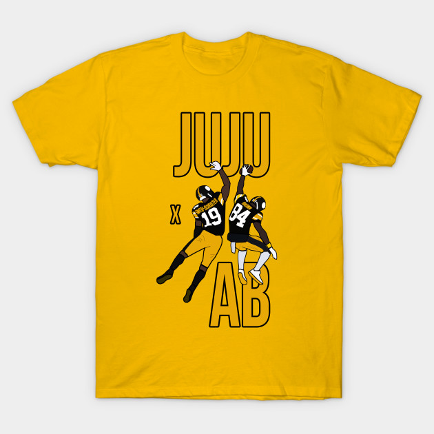 new concept 62960 44860 Juju Smith Schuster and Antonio Brown 'JUJU X AB' - Pittsburgh Steelers  Iconic Duo