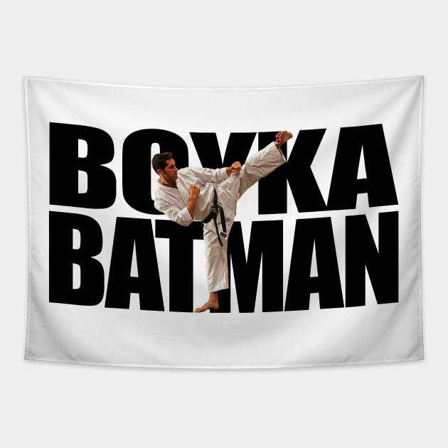 Boyka Batman Make Scott Adkins Batman Martial Arts Scott Adkins Tapestry Teepublic