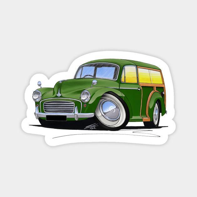 Morris Minor Traveller Green