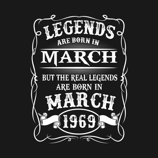 Legends Are Born in March Crewneck Sweatshirt