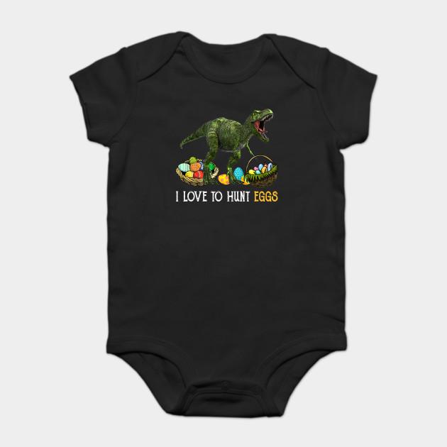 3f2f9df0e Easter Shirt Dinosaur T Rex Kids Boys Girls EGG Hunts - Easter ...