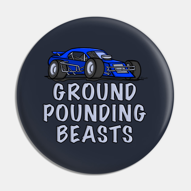 Race Car GROUND POUNDING BEASTS