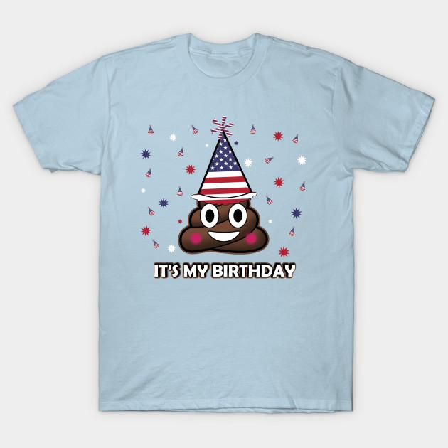 Its My Birthday Poop Emoji